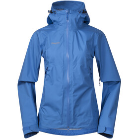 Bergans Letto Jas Dames, cloud blue/athens blue